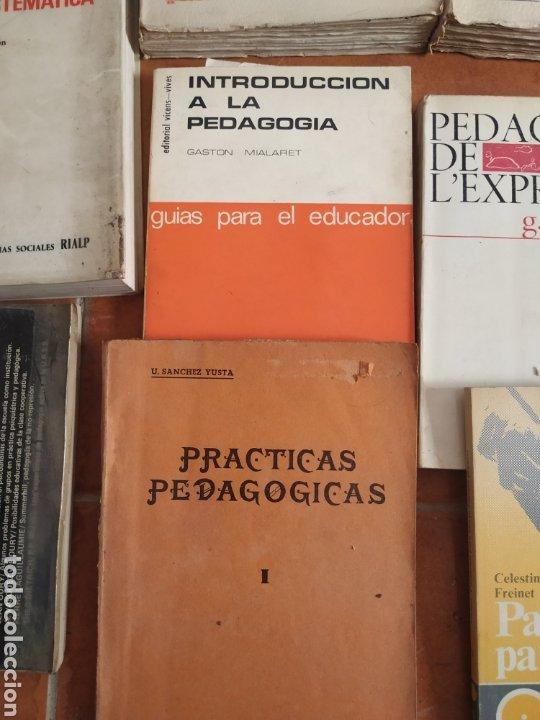 Libros de segunda mano: Lote de 10 libros de pedagogía años 60 - Foto 5 - 283935378
