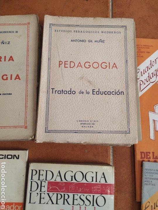 Libros de segunda mano: Lote de 10 libros de pedagogía años 60 - Foto 6 - 283935378