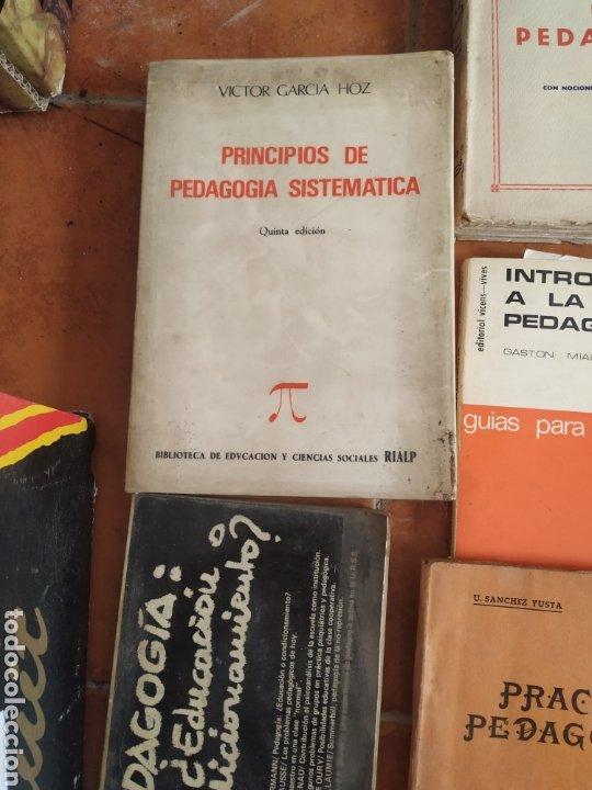 Libros de segunda mano: Lote de 10 libros de pedagogía años 60 - Foto 2 - 283935378
