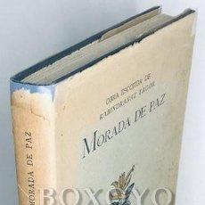 Libros de segunda mano: TAGORE, RABINDRANAZ. MORADA DE PAZ (SANTINIQUETAN). LA ESCUELA DE RABINDRANAZ TAGORE EN BOLPÙR, POR. Lote 281889853