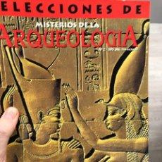Libros de segunda mano: SELECCIONES DE MISTERIOS DE LA ARQUEOLOGÍA: SEXO, TUMBAS Y DIOSES, EGIPTO. Lote 287796563