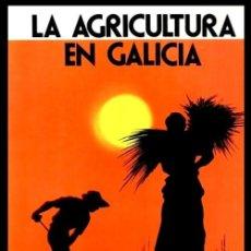 Libros de segunda mano: LA AGRICULTURA EN GALICIA. ETNOGRAFIA. HERRAMIENTAS TIPICAS DE LABRANZA. LA CAZA. EL LOBRO. ETC.. Lote 288345843