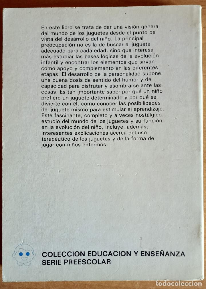 Libros de segunda mano: JUGUETES Y OBJETOS PARA JUGAR.EDUCACION PREESCOLAR.JOHN NEWSON.CEAC.1982.NIÑOS.ESCUELA.MANUAL - Foto 2 - 288481998