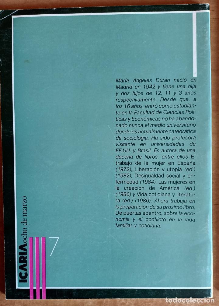 Libros de segunda mano: LA JORNADA INTERMINABLE.COMO SE ENSEÑA A SER NIÑA.ICARIA.LOTE.EDUCACION.ESCUELA.NIÑOS.PEDAGOGIA - Foto 2 - 288482658