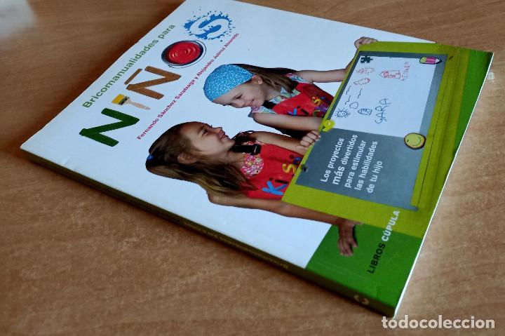 Libros de segunda mano: BRICOMANUALIDADES PARA NIÑOS.LIBROS CUPULA.MANUALIDADES.NIÑOS.GUIA.ACTIVIDADES.EDUCACION.OCIO - Foto 3 - 288537558