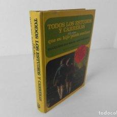 Libros de segunda mano: TODOS LOS ESTUDIOS Y CARRERAS QUE SU HIJO PUEDE REALIZAR (CARLOS DE LA FUENTE) ED.PLANETA 1974. Lote 294572838