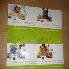 Libros de segunda mano: EDUCACION Y CRECIMIENTO PADRES 10 - 4 TOMOS / COMPLETA - EDITORIAL : OCEANO - DISPONGO DE MAS LIBROS. Lote 294862308