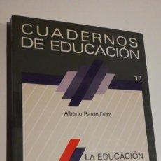 Libros de segunda mano: LA EDUCACIÓN AMBIENTAL COMO PROYECT. Lote 295749938