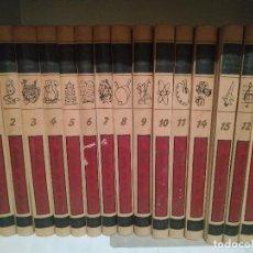 Libros de segunda mano: COLECCION COMPLETA EL MUNDO DE LOS NIÑOS (1964 - 4ª EDICION) 15 TOMOS DE SALVAT EDITORES. Lote 296816493