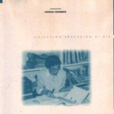 Libros de segunda mano: LA MEMORIA ANUAL. UN INSTRUMENTO DE EVALUACION DEL CENTRO. VIDORRETA, CONCHA. A-PED-813. Lote 296860818