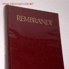 Libros de segunda mano: REMBRANDT. POR JOSEPH - EMILE MULLER. CÍRCULO DE LECTORES, 1968. ARTE. BARROCO. PINTURA. GRABADO.. Lote 26252774