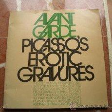 Libros de segunda mano: PICASSO'S EROTIC GRAVURES GRABADOS ERÓTICOS DE PICASSO. Lote 106080246