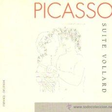 Libros de segunda mano: PICASSO. SUITE VOLLARD. AT-474. Lote 48205766