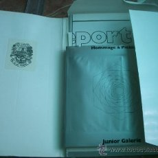 Libros de segunda mano: HOMMAGE À PICASSO - MÄRZ - APRIL 1974 KUNSTVEREIN BRAUNSCHWEIG, JUNIOR GALERIE 135 PAG Y EXTRAS. Lote 26947529