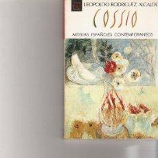 Libros de segunda mano: PANCHO COSSIO - ARTISTAS ESPAÑOLES CONTEMPORANEOS - SERIE PINTORES - Nº 62. Lote 17012327