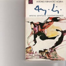 Libros de segunda mano: PUIG - ARTISTAS ESPAÑOLES CONTEMPORANEOS - SERIE PINTORES - Nº 52. Lote 17012371