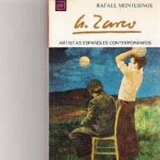 Libros de segunda mano: ANTONIO ZARCO - ARTISTAS ESPAÑOLES CONTEMPORANEOS - SERIE PINTORES - Nº 113. Lote 17012437