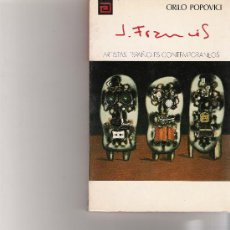 Libros de segunda mano: JUANA FRANCES - ARTISTAS ESPAÑOLES CONTEMPORANEOS - SERIE PINTORES - Nº 110. Lote 17012456