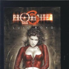 Libros de segunda mano: LUIS ROYO PROHIBITED BOOK 3. Lote 17504192
