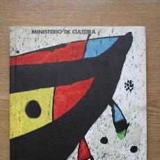 Libros de segunda mano: JOAN MIRÓ. PINTURA.. Lote 27324659