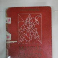 Libros de segunda mano: MANUAL GRAFICO Y TECNICO PARA PINTURA-1945. Lote 26819118