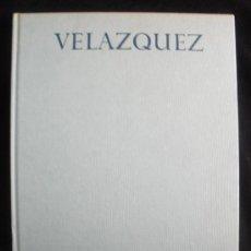Libros de segunda mano: VELEZQUEZ. XAVIER SALAS. 50 LAMINASA COLOR. ED.NOGUER. 1967 TEXTO 17 PAG. . Lote 19929261