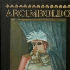 Libros de segunda mano: ARCIMBOLDO. CON UN ENSAYO DE ACHILLE BONITO OLIVA. ROLAND BARTHES. PRIMERA EDICIÓN. . Lote 27435937