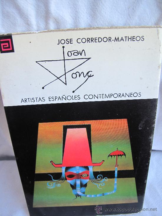 JOAN PONS -JOSE CORREDOR-MATHEOS- (Libros de Segunda Mano - Bellas artes, ocio y coleccionismo - Pintura)