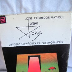 Libros de segunda mano: JOAN PONS -JOSE CORREDOR-MATHEOS-. Lote 25378689