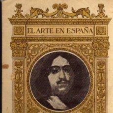 Libros de segunda mano: EL ARTE EN ESPAÑA Nº 21 - RIBERA EN EL MUSEO DEL PRADO - EDICIÓN THOMAS - 1940. Lote 26356439