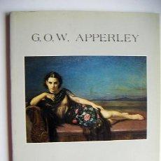 Libros de segunda mano: G.O.W.APPERLEY. Lote 27246261