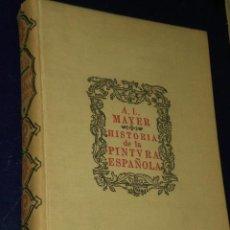 Libros de segunda mano: HISTORIA DE LA PINTURA ESPAÑOLA.. Lote 22755914