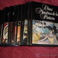 Libros de segunda mano: OBRAS MAESTRAS DE LA PINTURA EDITORIAL PLANETA. 12 TOMOS 1983. Lote 27572749