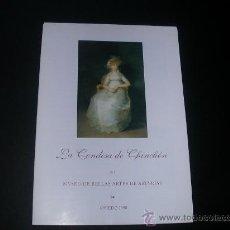 Libros de segunda mano: LA CONDESA DE CHINCHON EN EL MUSEO DE BELLAS ARTES DE ASTURIAS.OVIEDO 1998. Lote 27373682