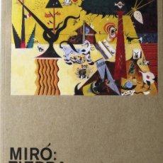 "Libros de segunda mano: EXPOSICIÓN ""MIRÓ: TIERRA"". CATÁLOGO (MUSEO THYSSEN MADRID, 2008), IMPECABLE ESTADO. Lote 26253438"