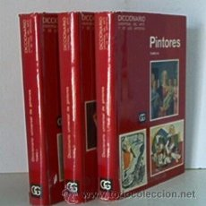 Libros de segunda mano: DICCIONARIO UNIVERSAL DE PINTORES - 3 TOMOS. Lote 27485313
