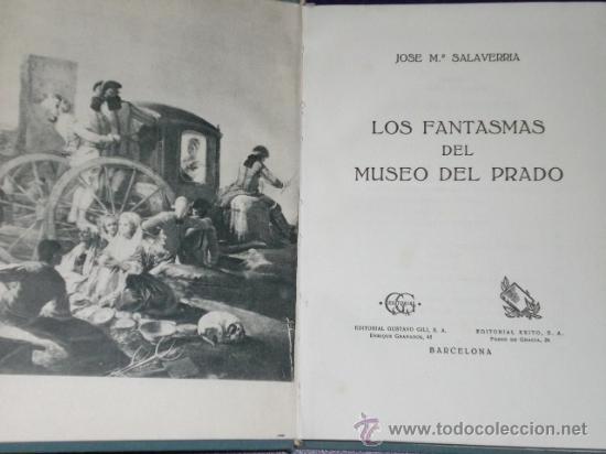 Libros de segunda mano: LOS FANTASMAS DEL MUSEO DEL PRADO. - Foto 2 - 26007265