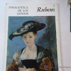 Libros de segunda mano: PINACOTECA DE LOS GENIOS. RUBENS. Lote 26471049
