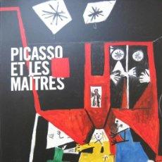 Libros de segunda mano: 'PICASSO ET LES MAÎTRES', (2008), CATÁLOGO EXPO. GRAND PALAIS, PARÍS, SIN USO, AGOTADO, IMPECABLE. Lote 26482601