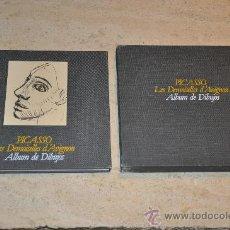 Libros de segunda mano: PICASSO LES DEMOISELLES D´AVIGNON ALBUM DE DIBUJOS AÑO 1988. Lote 26678028
