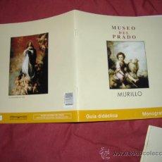 Libros de segunda mano: MUSEO DEL PRADO MURILLO GUIA DIDACTICA MONOGRAFIAS 24 PAGINAS 2001. Lote 70292538