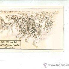 Livros em segunda mão: LOS ANIMALES VISTOS POR UN GRAN ARTISTA. RALPH THOMPSON. Lote 27359416