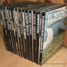 Libros de segunda mano: EL MOVIMIENTO IMPRESIONISTA 15T POR VARIOS AUTORES DE CLUB INTERNACIONAL DEL LIBRO EN MADRID 1990. Lote 27759928