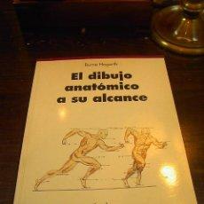 Libros de segunda mano: BURNE HOGARTH, EL DIBUJO ANATOMICO A SU ALCANCE, TASCHEN, 2001. Lote 27937349