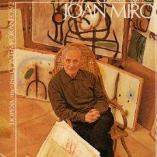 Libros de segunda mano: LIBRO DE JOAN MIRO POR JOSEP MELIA NUESTROS CONTEMPORANEOS 1971. Lote 27949418