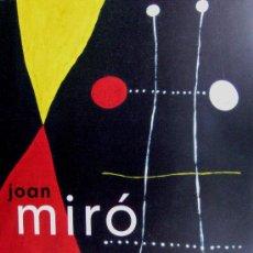 Libros de segunda mano: 'JOAN MIRO. THE LADDER OF ESCAPE' (2011) CATÁ. EXPO. TATE MODERN, SIN USO, IMPECABLE ESTADO. Lote 28645456