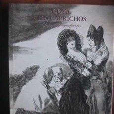 Libros de segunda mano: GOYA LOS CAPRICHOS, DIBUJOS Y AGUAFUERTES, CENTRAL HISPANO, 1994. Lote 28670193
