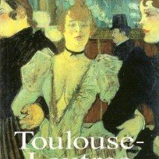 Libros de segunda mano: MINILIBROS DE ARTE: TOULOUSE-LAUTREC DE UDO FELBINGER (KONEMANN). Lote 28988657