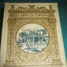Libros de segunda mano: LA CASA DEL GRECO. EL ARTE EN ESPAÑA. PATRONATO NACIONAL DE TURISMO. . Lote 29012184