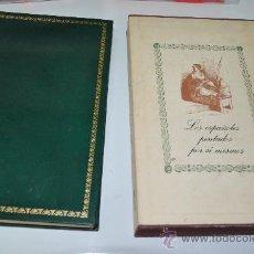 Libros de segunda mano: LOS ESPAÑOLES PINTADOS POR SÍ MISMOS EDICION LIMITADA DE BANCO IBERICO 1971 PROLOGO DE CELA. Lote 29290029
